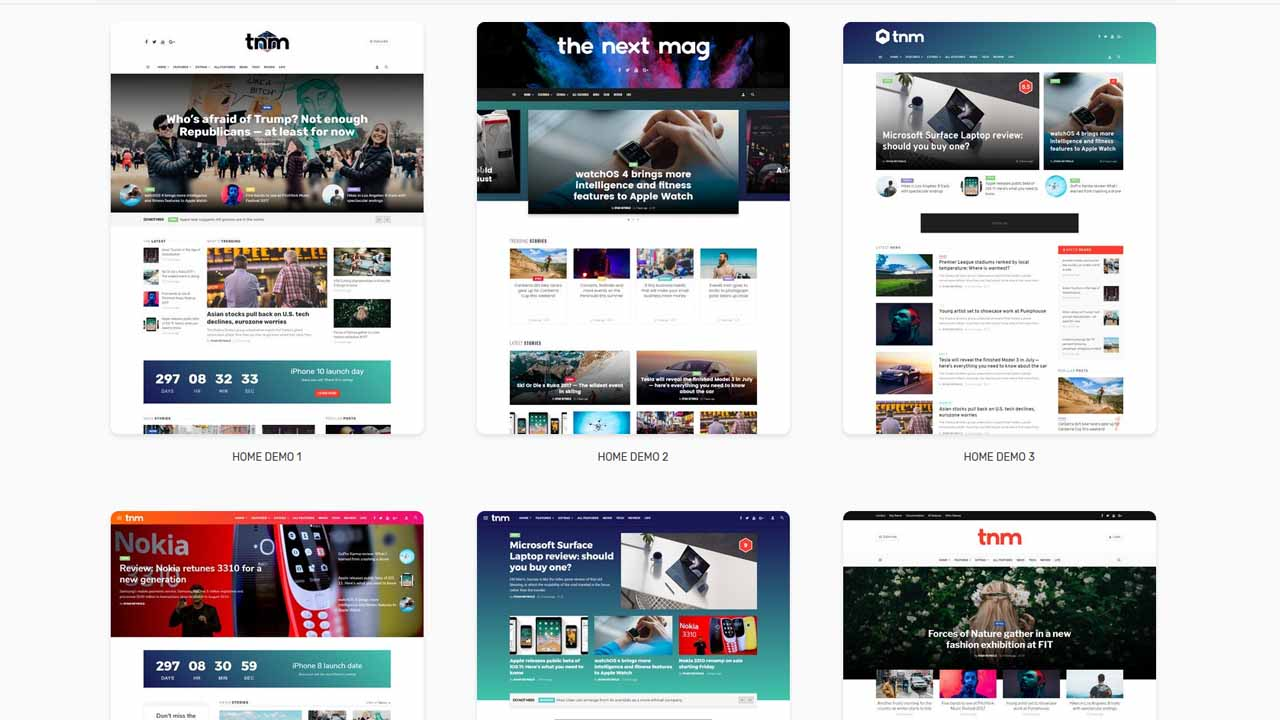 The Next Mag Magazine WordPress Theme