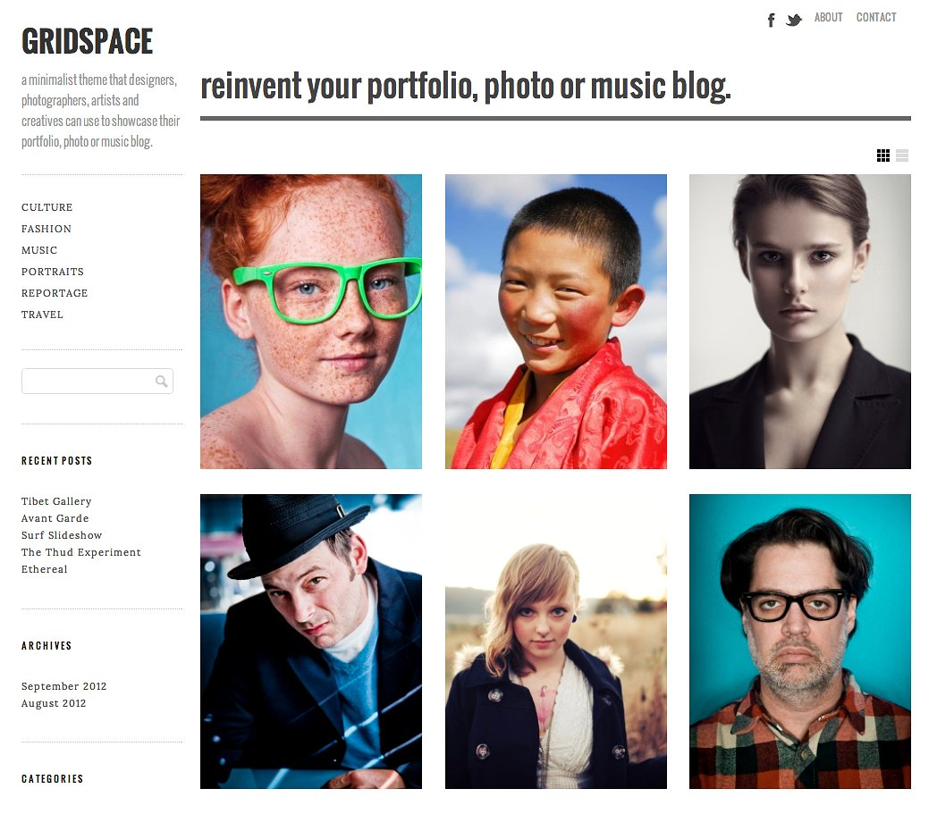 Gridspace WP theme