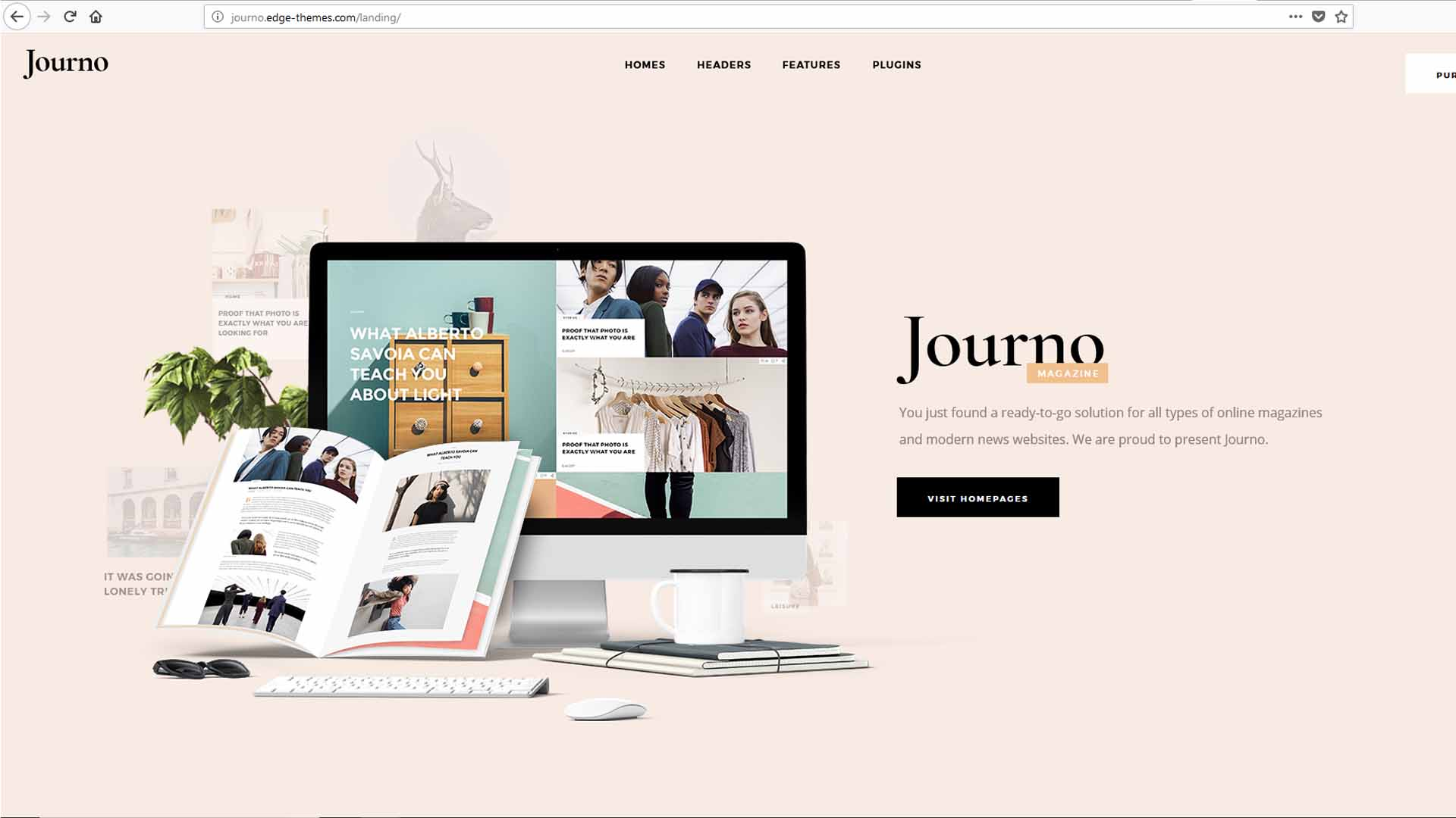 Journo Creative Magazine and Blog Theme