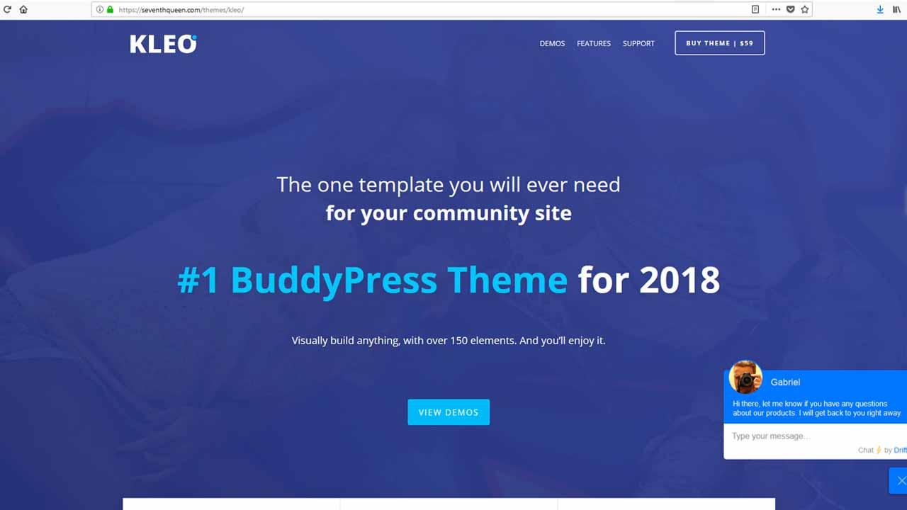 KLEO Multipurpose BuddyPress Theme