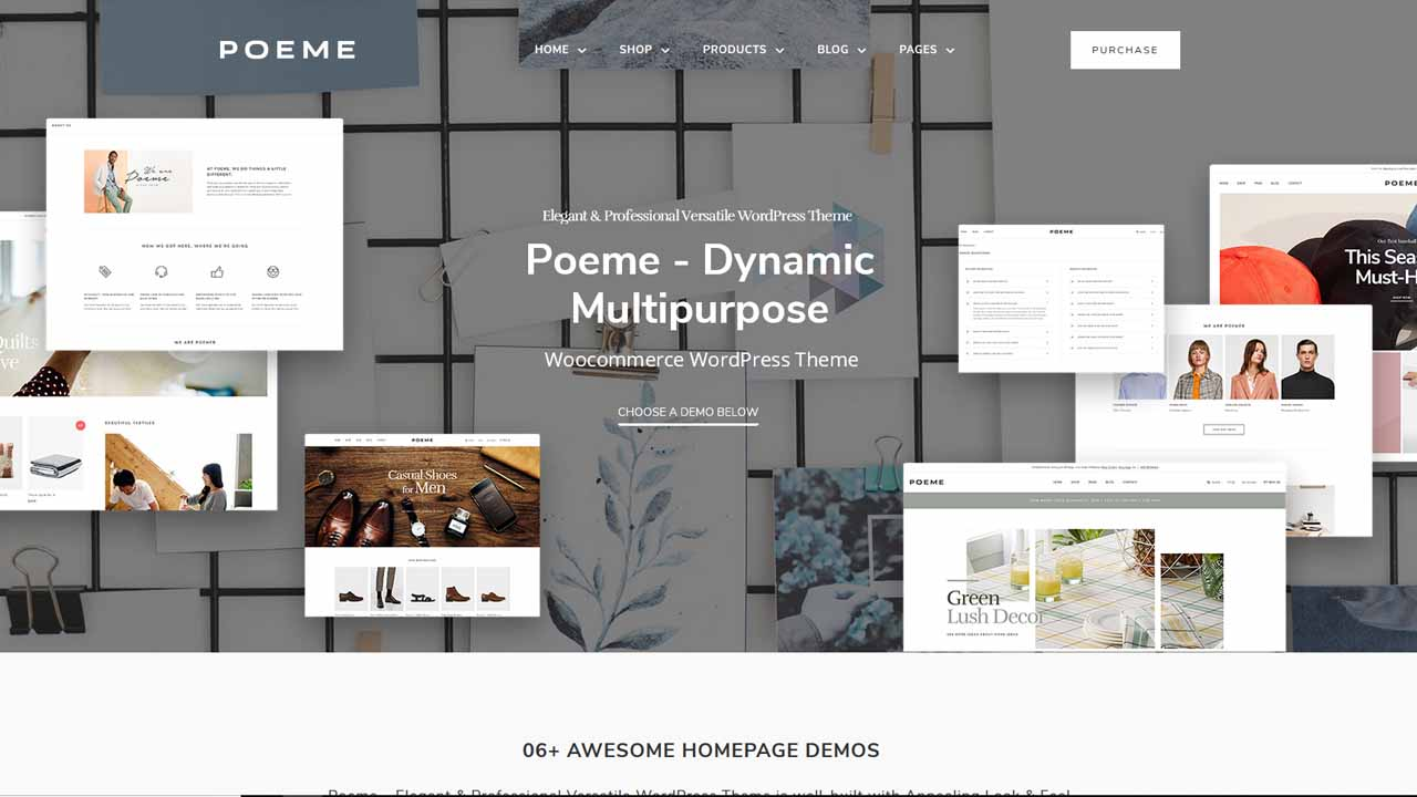 Poeme Multipurpose WooCommerce WordPress Theme