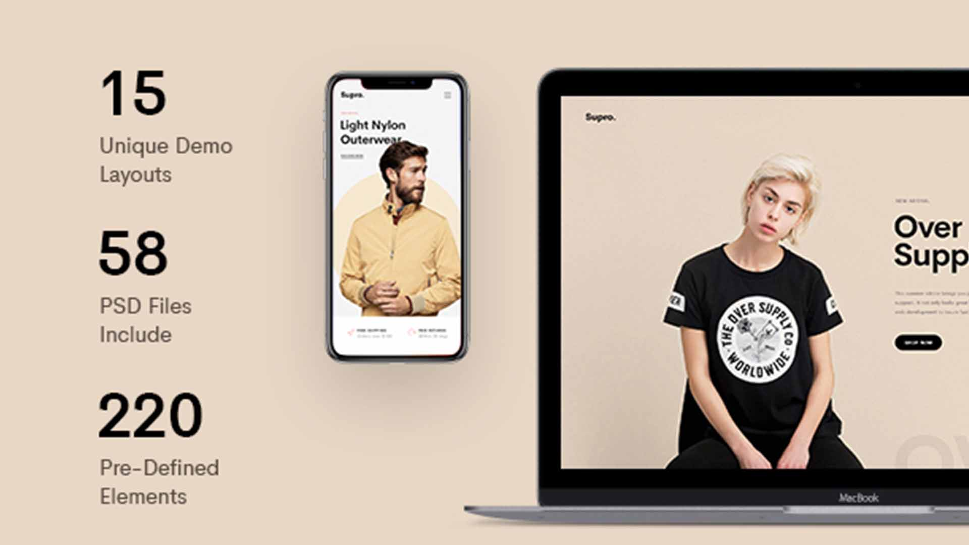 Supro AJAX WooCommerce WordPress Theme