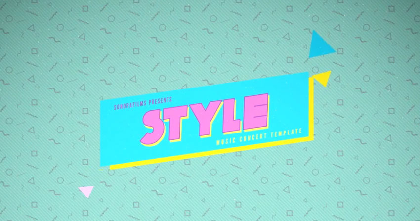 Style After Effects template