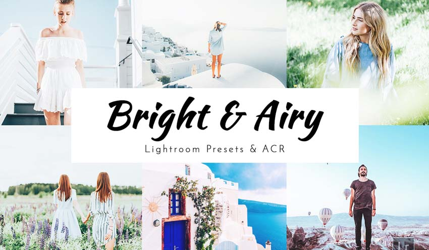 Bright & Airy Lightroom Presets+ ACR