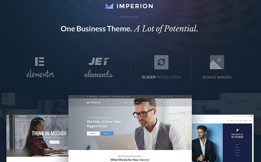 Imperion Business and Marketing WordPress Theme