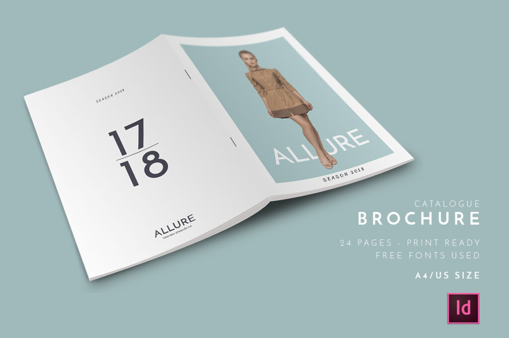 Allure Catalog InDesign Template