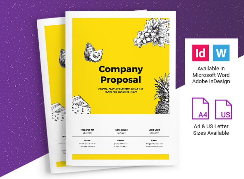 Business Proposal InDesign template