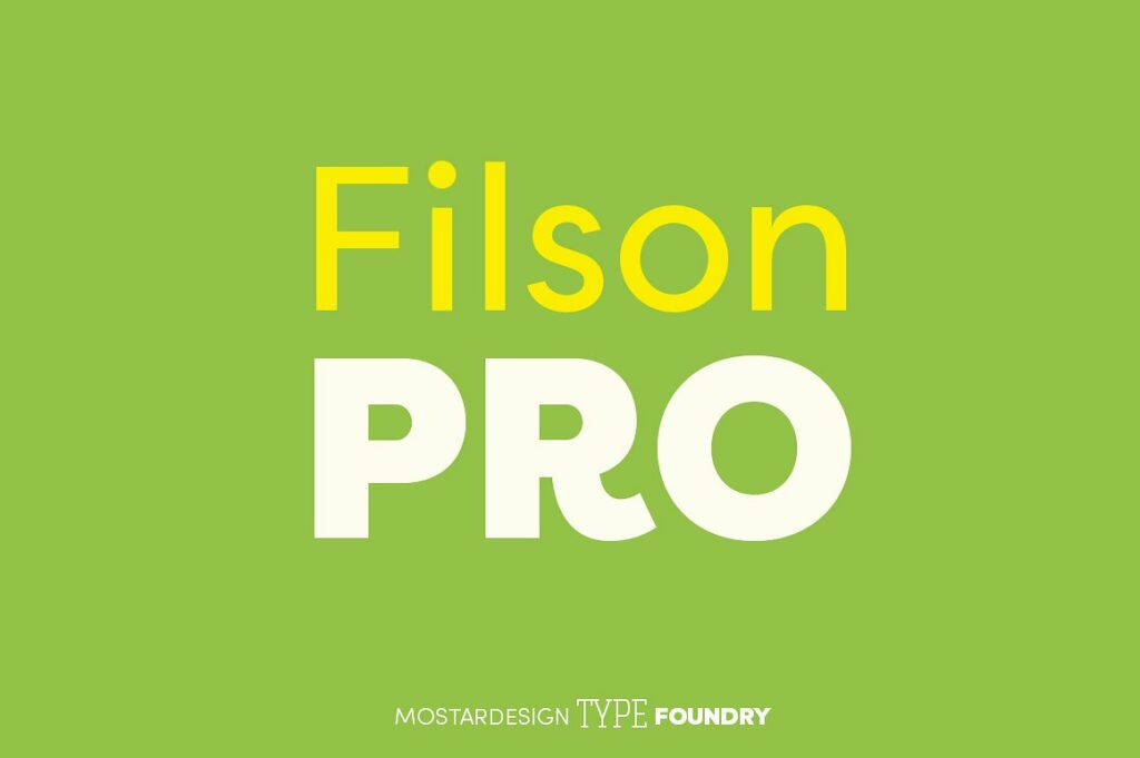 Filson Pro Font Family For Editorial Designs