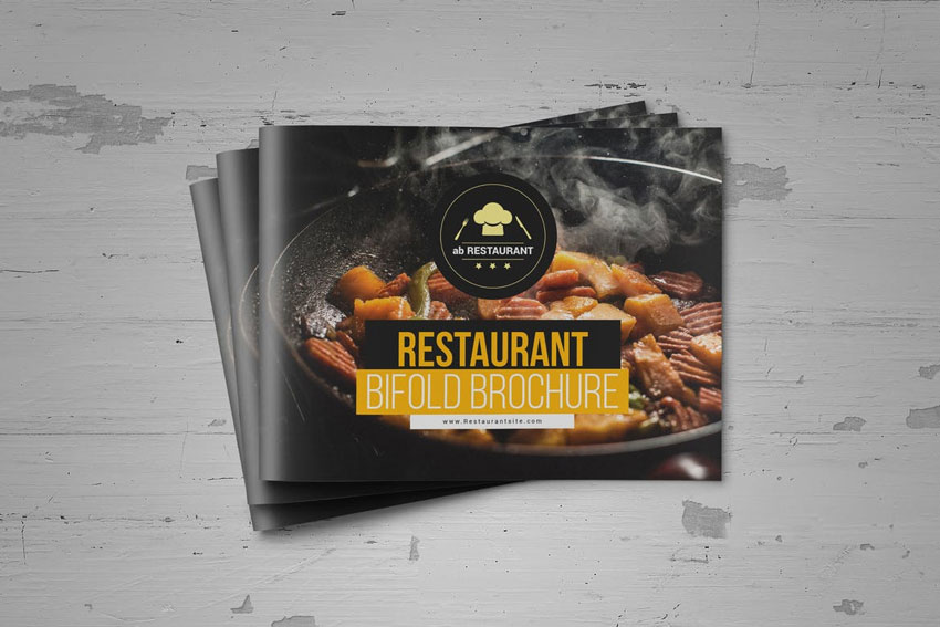 Food Restaurant Brochure InDesign Template