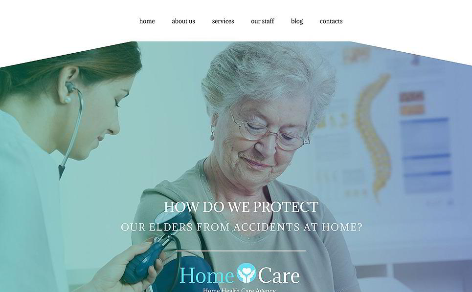 Home Care Medical WordPress Theme
