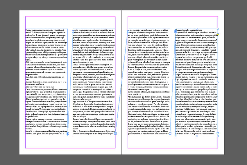 How to Thread Text in InDesign