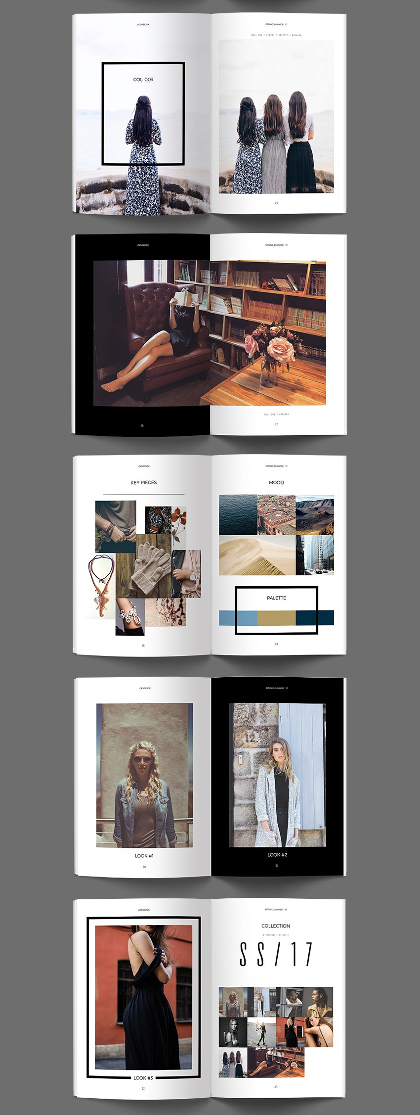 Lookbook InDesign Template