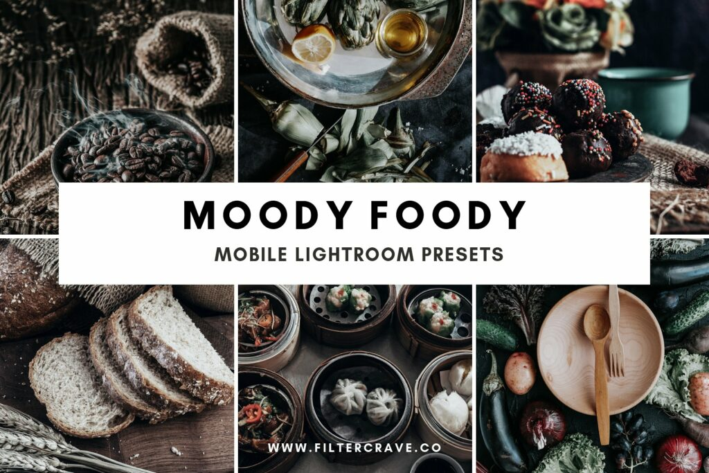 Moody Foody Lightroom Presets For Food Photography