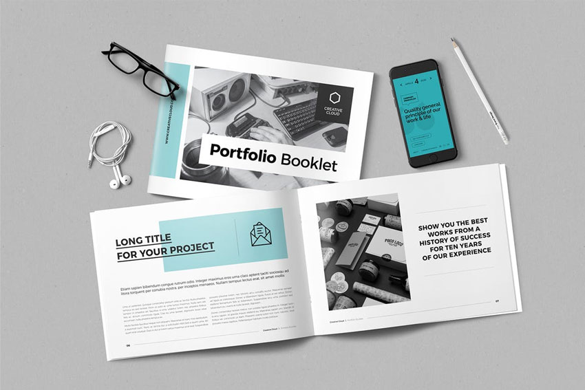 Portfolio Template InDesign template
