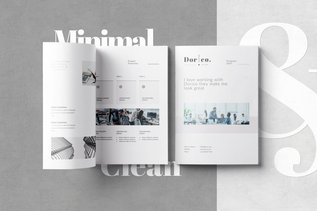 Proposal InDesign Template