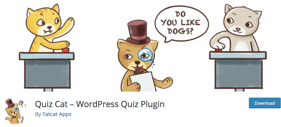 Quiz Cat Plugin