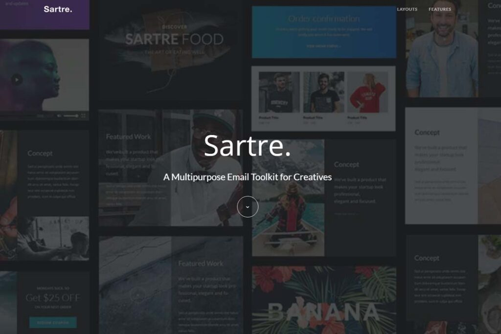 Sartre Responsive Email Toolkit