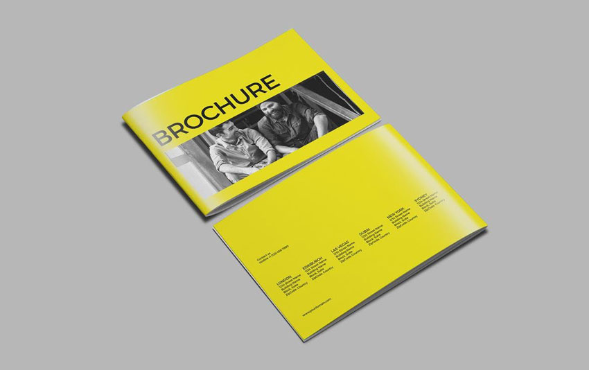 Simple Brochure InDesign Template