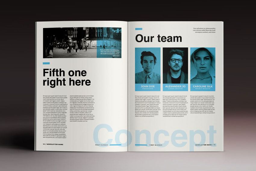 Stylish Brochure InDesign Template