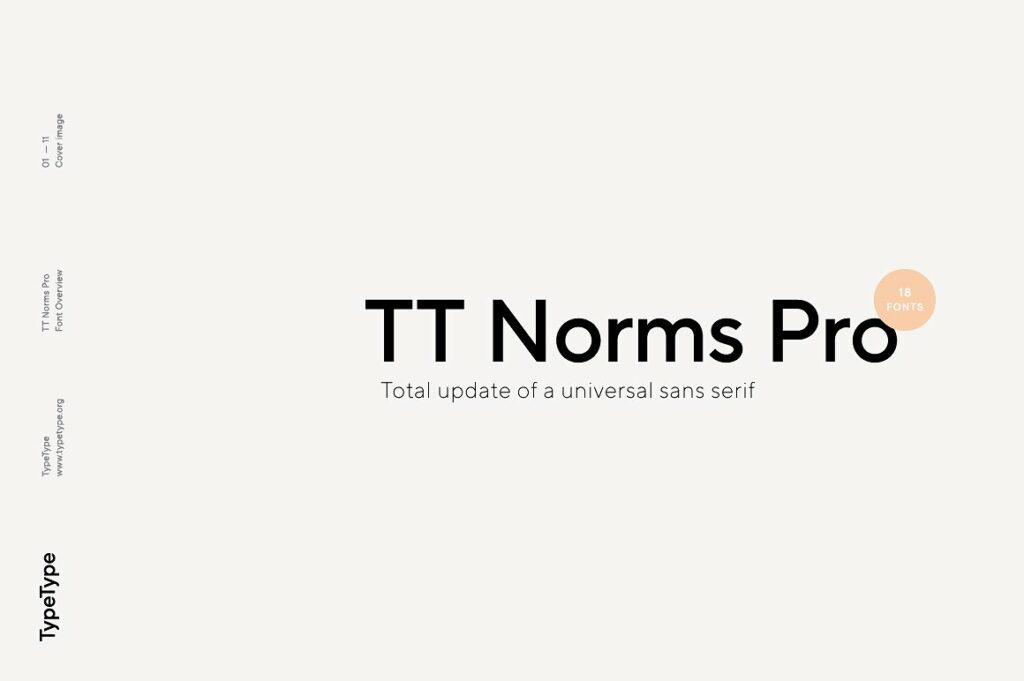 TT Norms Font For Editorial Designs
