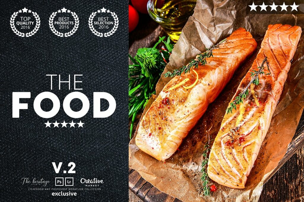 The FOOD 175 Workflow Bundle 3 In 1 For Food Photography