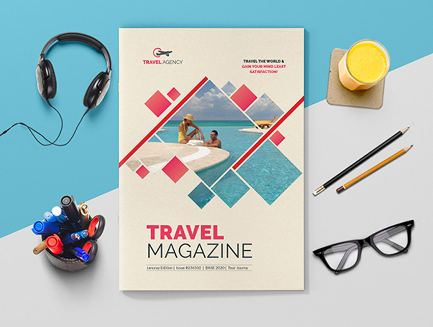 Travel Magazine InDesign template
