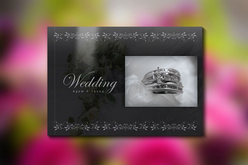 Wedding Book Template InDesign Template