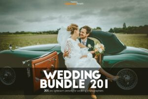 201 Wedding Lightroom Presets Bundle Cover Photo
