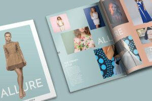 Allure Catalog Brochure Template Cover Photo