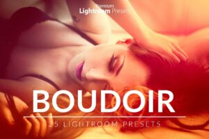 Boudoir Lightroom Presets Pack Cover Photo