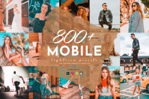 800+ Lightroom Mobile Presets Mega Bundle
