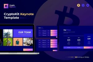CryptoKit Keynote Template
