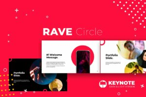 Rave Circle Keynote Template