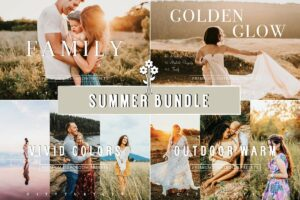SUMMER BUNDLE Lightroom Presets