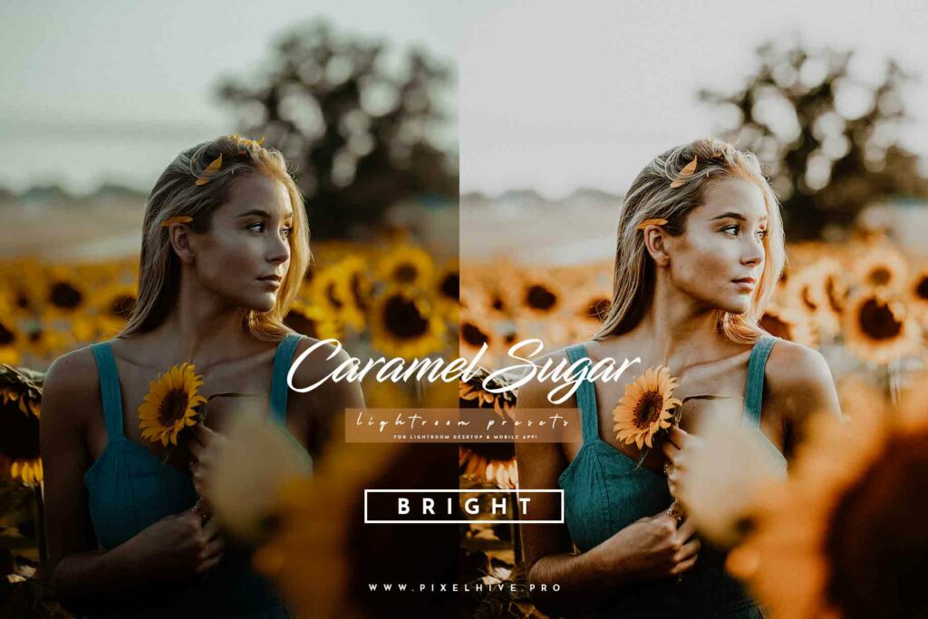Free Caramel Lightroom Mobile DNG Preset for instagram