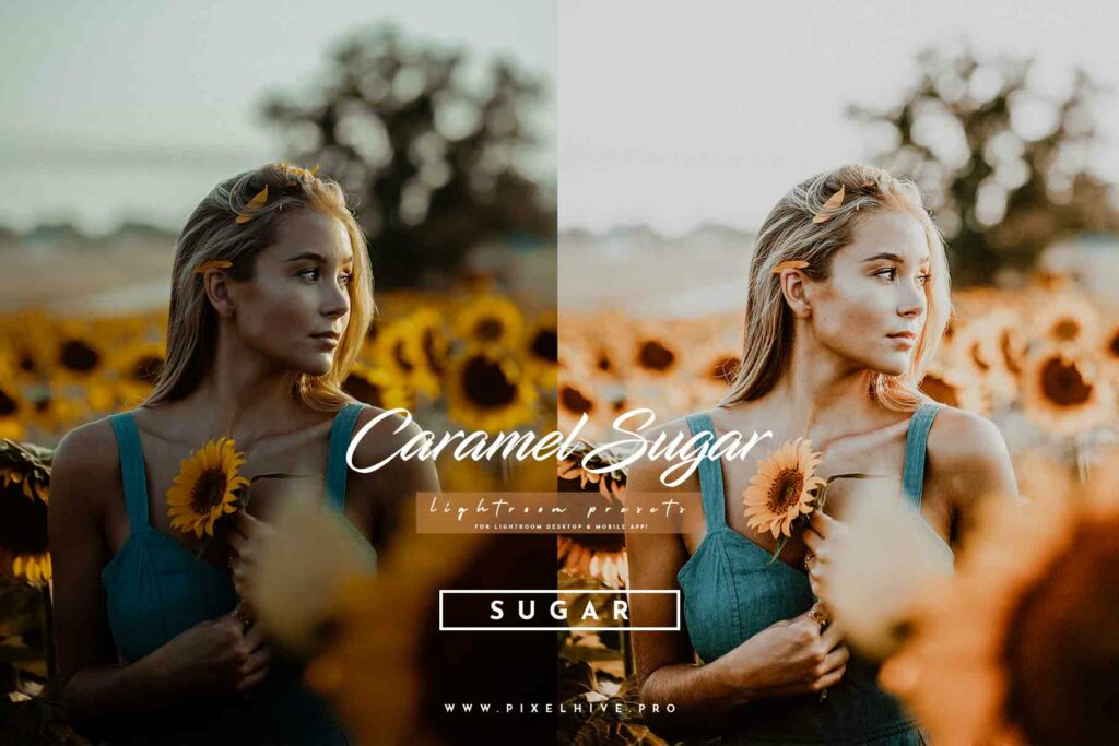 Free Sugar Lightroom Mobile DNG Preset for instagram