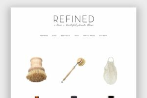 Refined Wordpress Theme